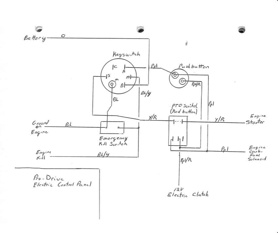 mudmotortalk com view topic pic of pd console ignition pto rh mudmotortalk com prodrive outboard wiring diagram 3-Way Switch Wiring Diagram