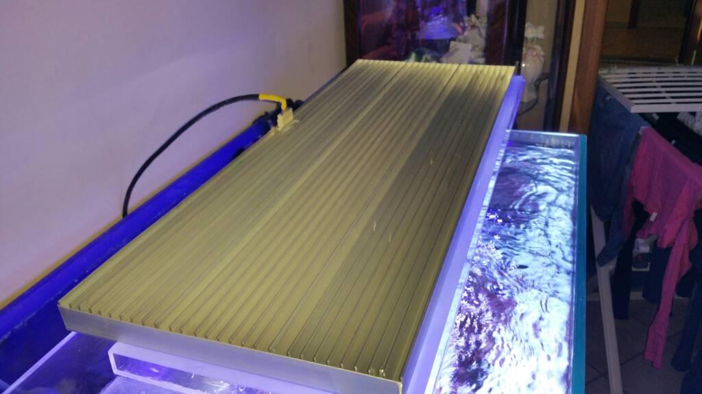 Plafoniera Led Acquario : Schema elettrico per plafoniera led acquario dolce