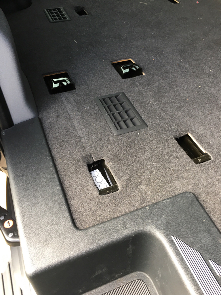 Jump Seat Mount- Remove or Cover? - Ford Transit USA Forum