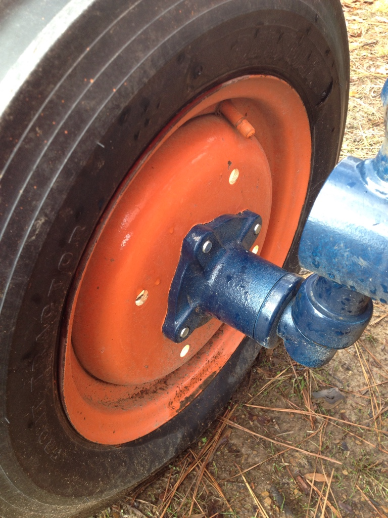 Kubota Wheel Weights : For sale kubota front wheel weights orangetractortalks