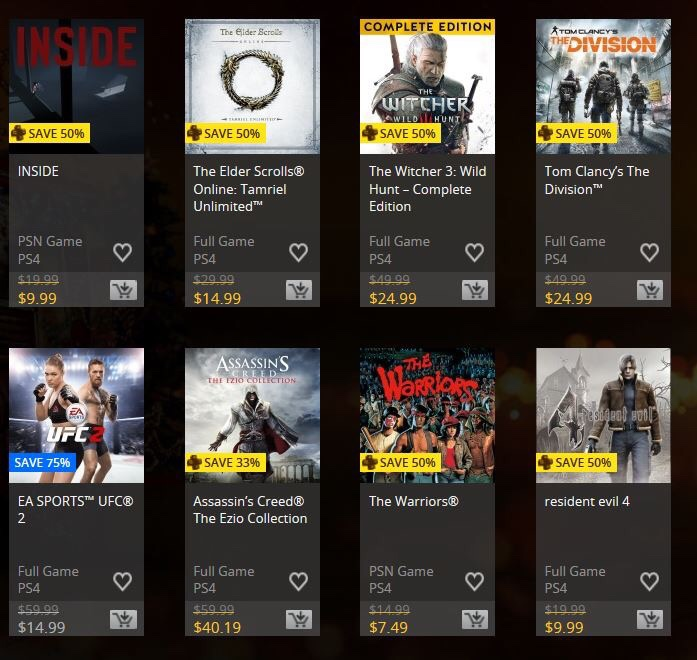 store history playstation sale