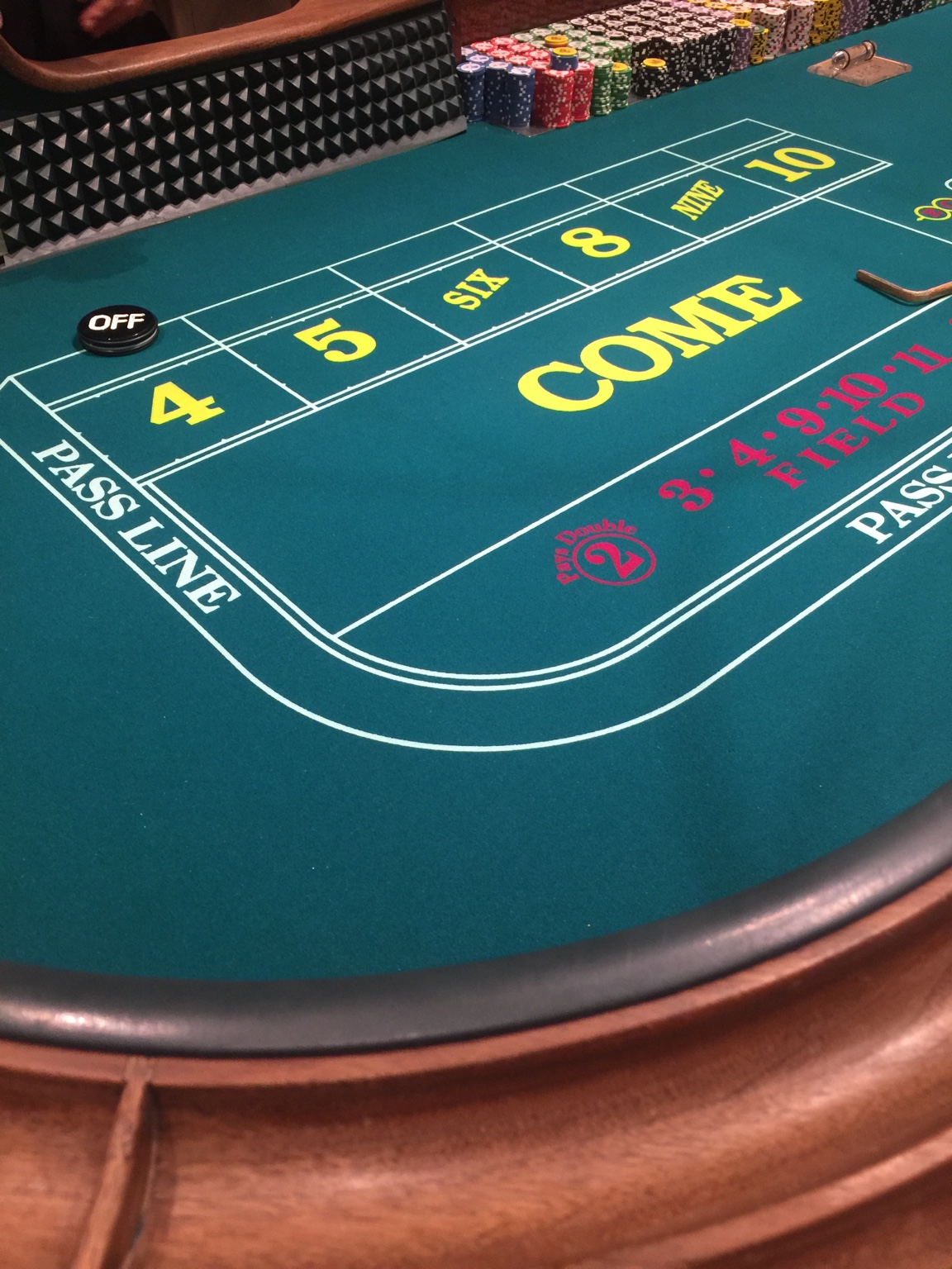 Craps betting explained