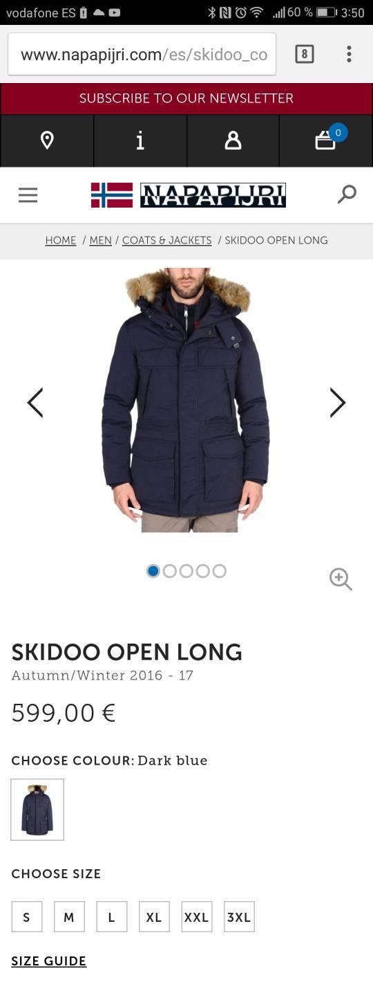 Alguna Alternativa Open Skidoo La Long O Napapijri Pena Merece 0H1xRqOx