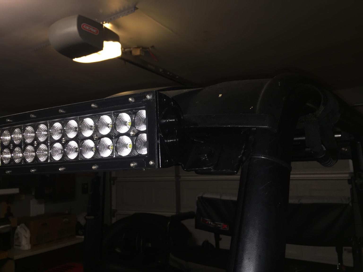 Curved Led Light Bar And Brackets Rangerforums Net