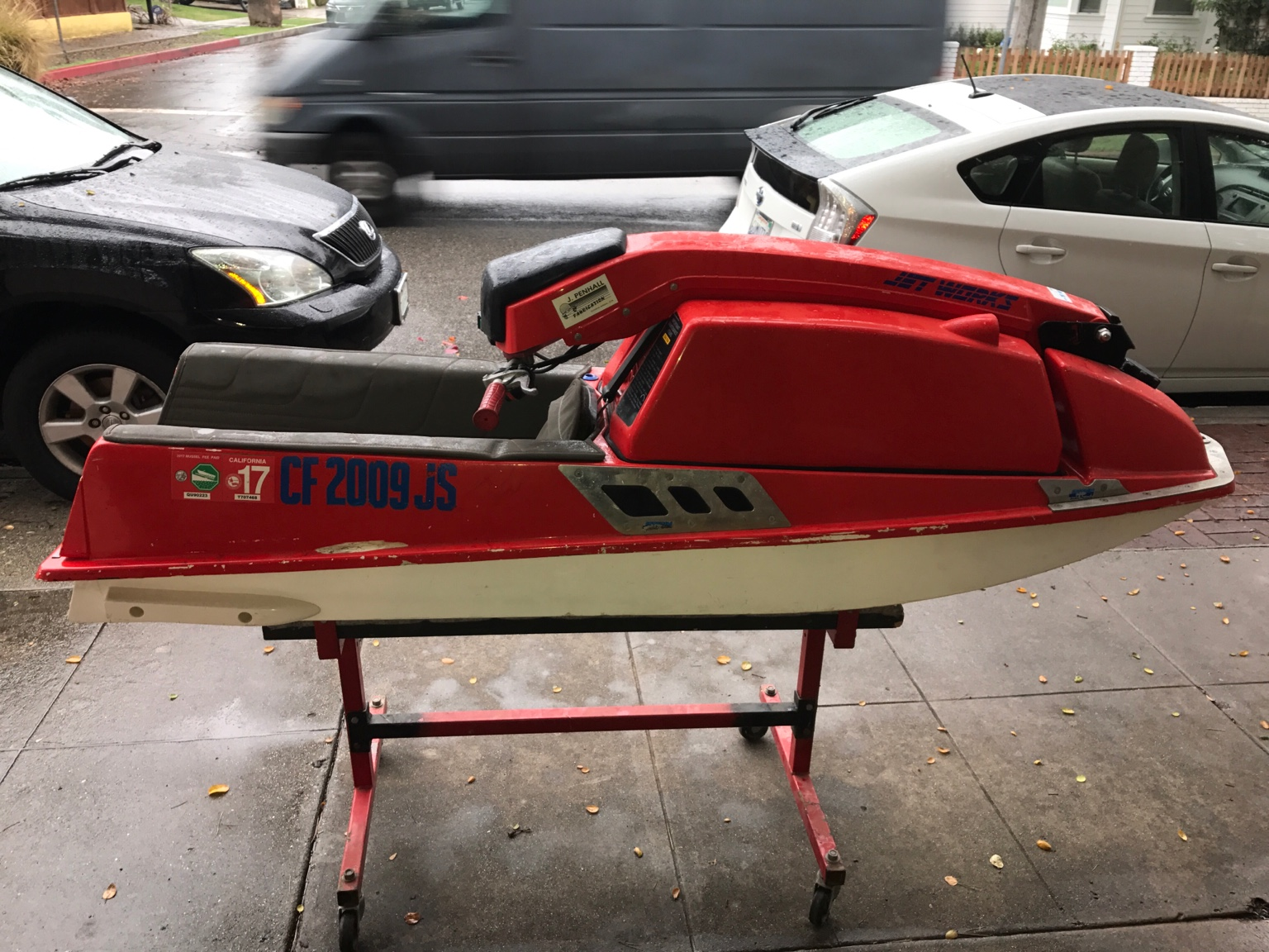 Has clean California title and registration. Very nice ski.