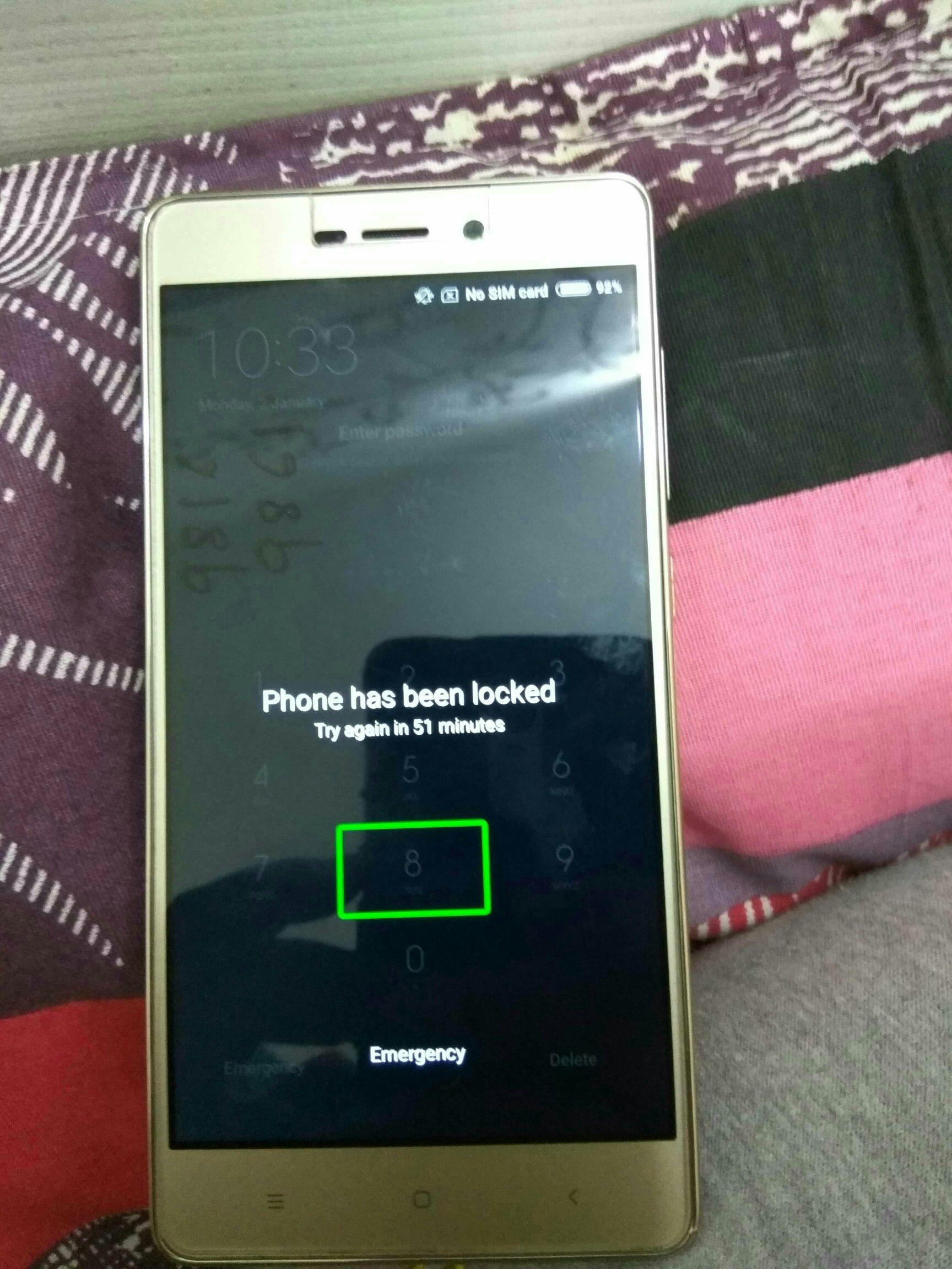 Redmi 3s Prime 2016032 Phone Locked Solution Without Edl Cable