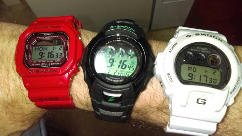 Is Gw6900 1 A Big Watch