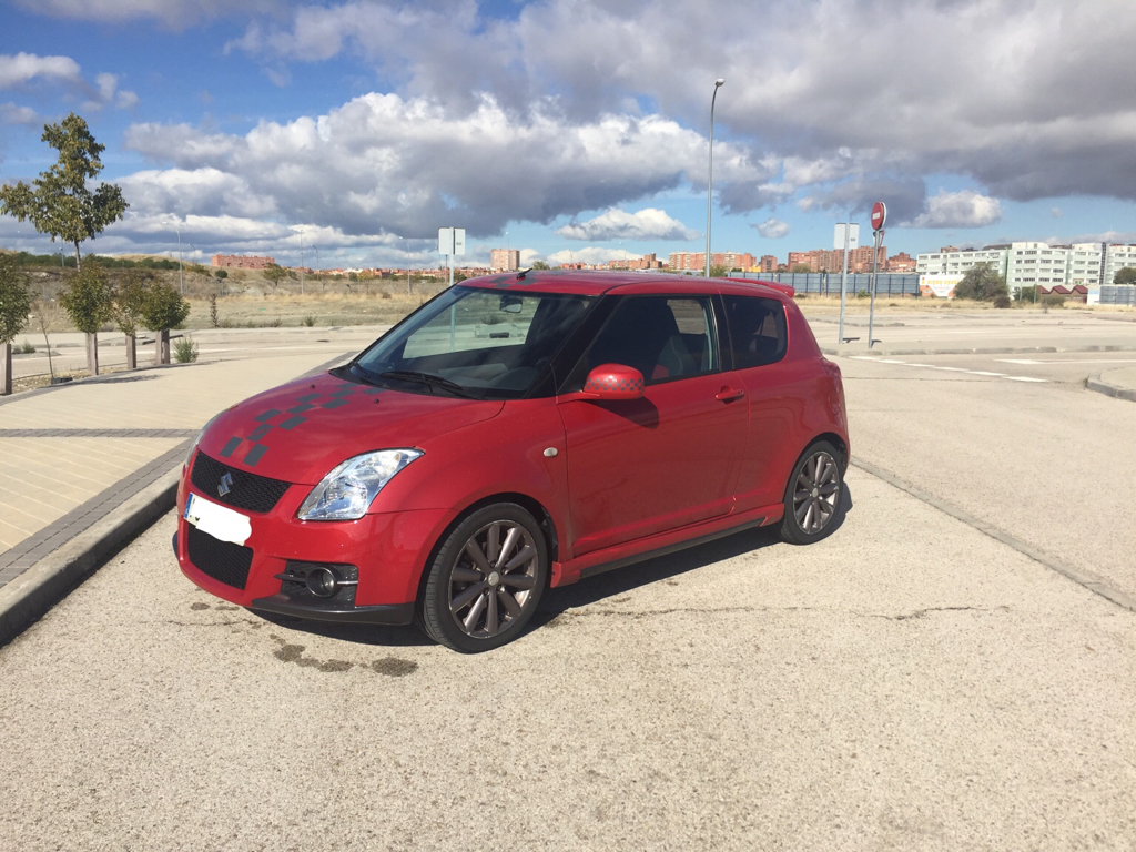 suzuki swift sport zc31s my08 rouge supreme. Black Bedroom Furniture Sets. Home Design Ideas