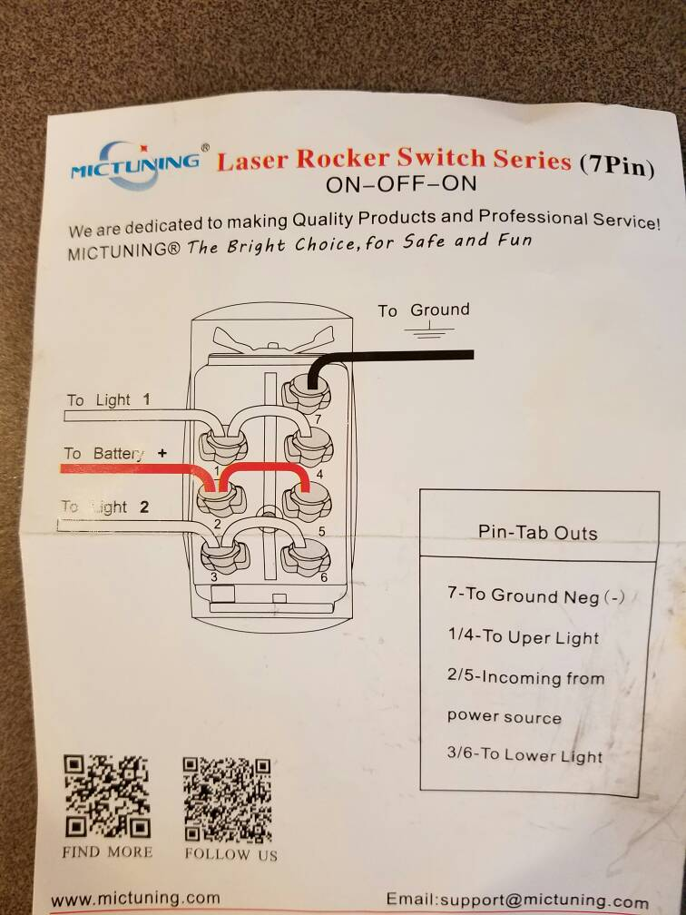 Wiring Diagram For Winch Rocker Switch - Wiring Solutions on