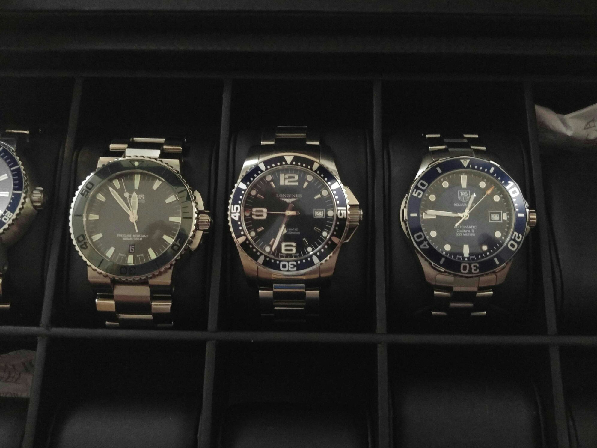 19a5f8d5e28 Tag Heuer Vs Longines - Collectible Crystal Figurines and Gifts