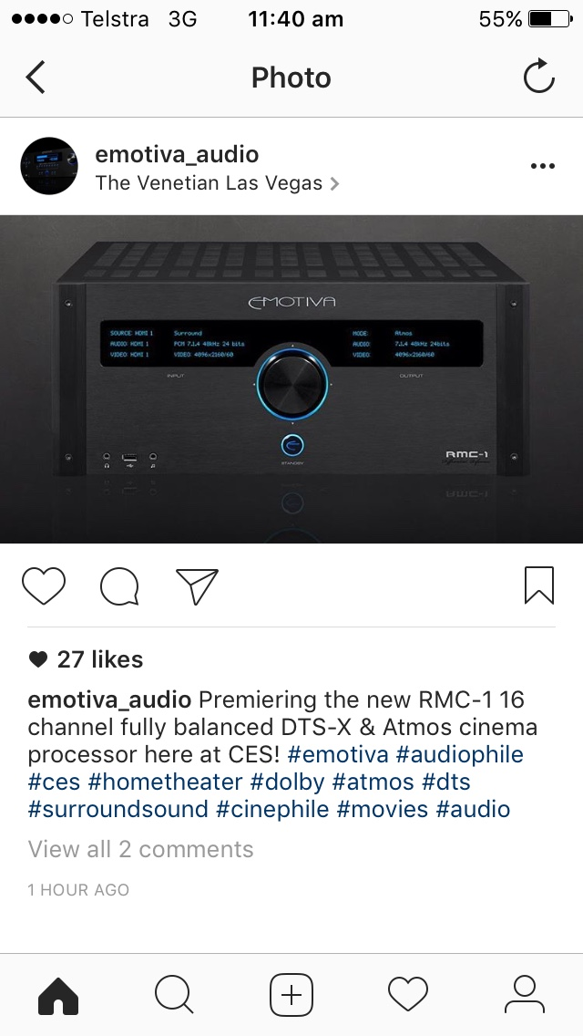 RMC-1 Emotiva's New 16ch Processor - Multi-Channel Audio Systems ...