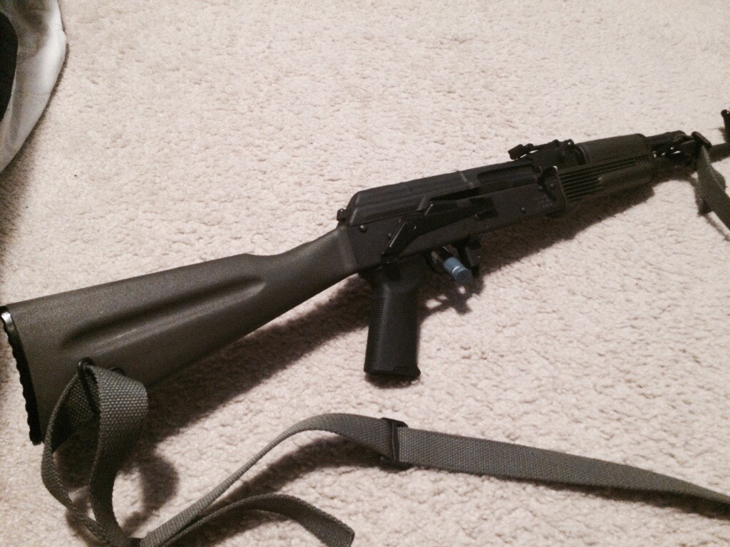 Magpul'ed Out the WASR-10! | Springfield XD Forum