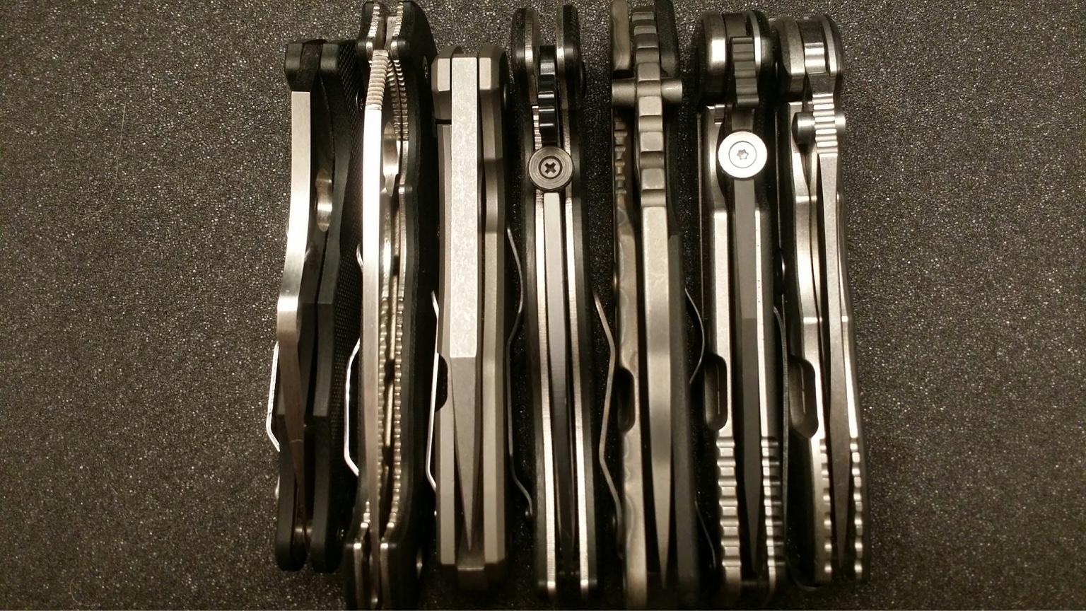 WTS/WTT: Knife Sale: Strider, Emerson, ZT, Spyderco, Boker