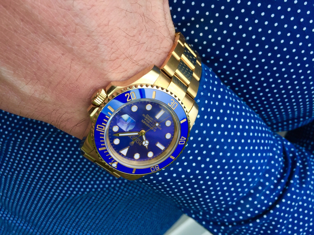 Rolex 116618lb Submariner Bp Ultimate From Trusty The