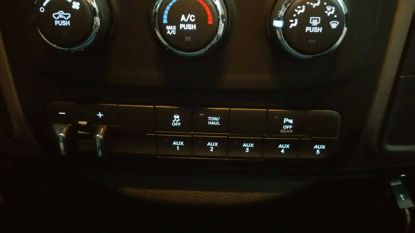Diy - Add Auxiliary Switches To A 2016 Ram 2500 Tradesman