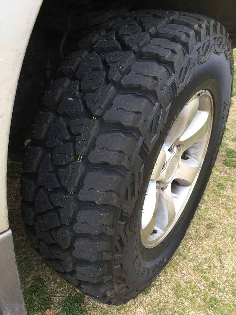 NewHilux net • View topic - TYRE FITMENT & PERFORMANCE