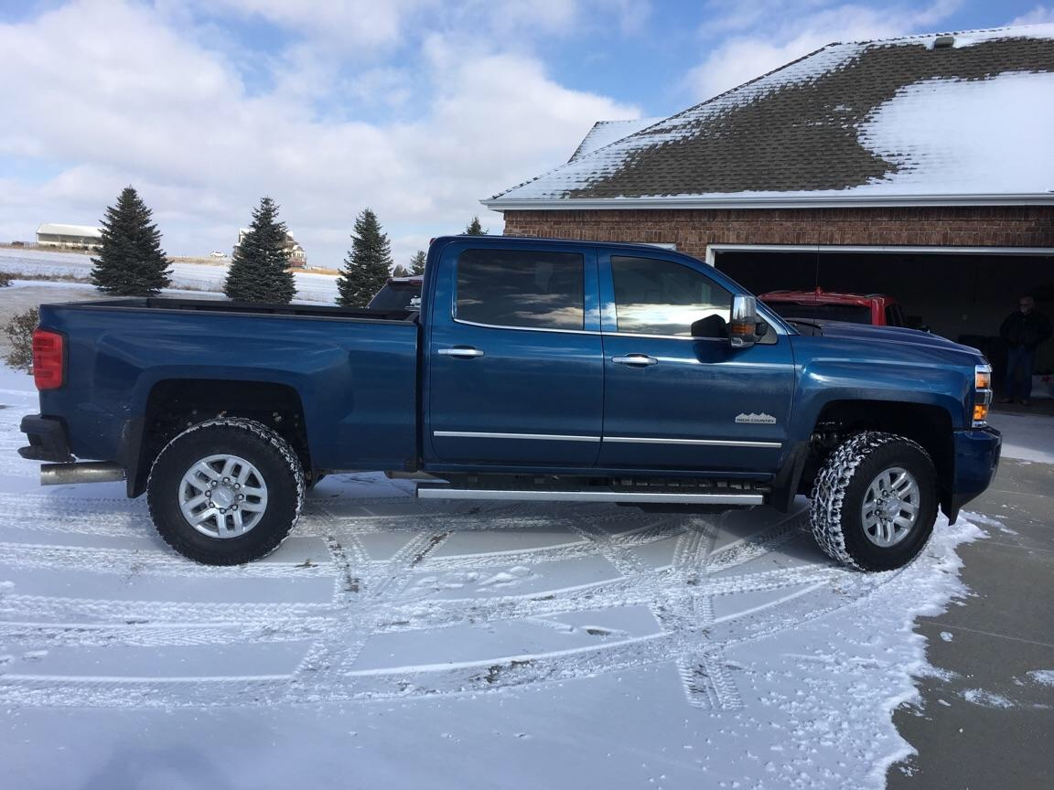 I just put 1 000 miles on my 17 and its a great truck came out of a 16 for the new motor it s high and day difference truck is very quite inside