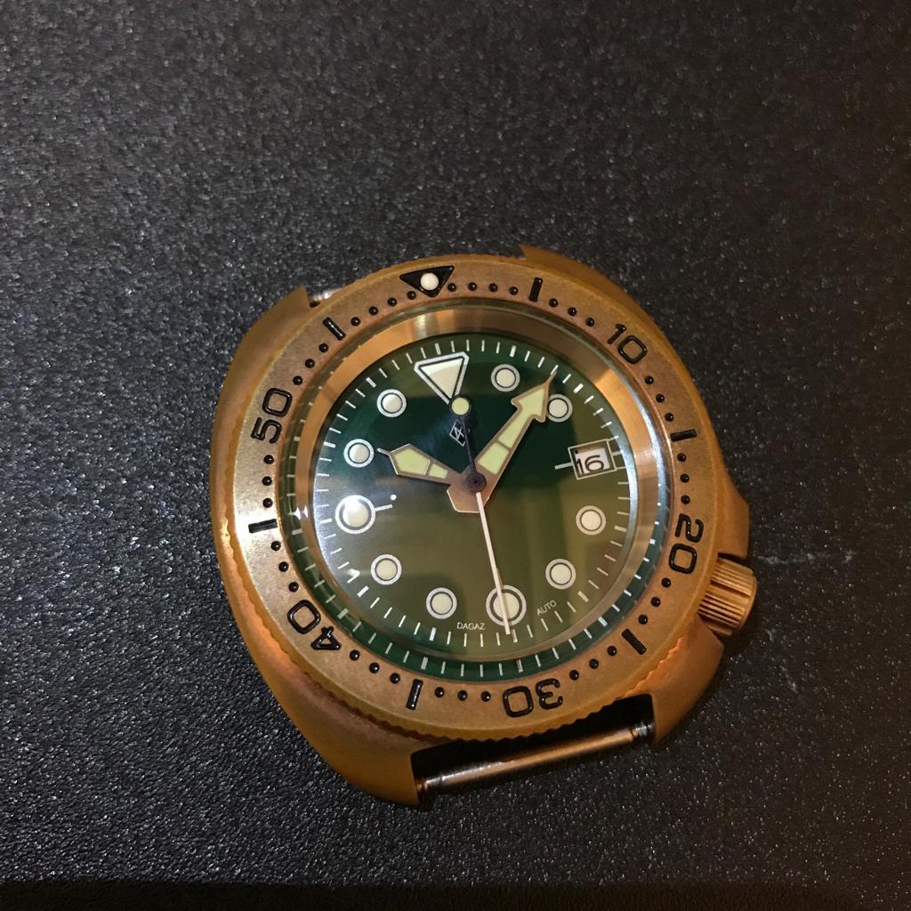 Fs bronze diver watch mod - Bronze dive watch ...