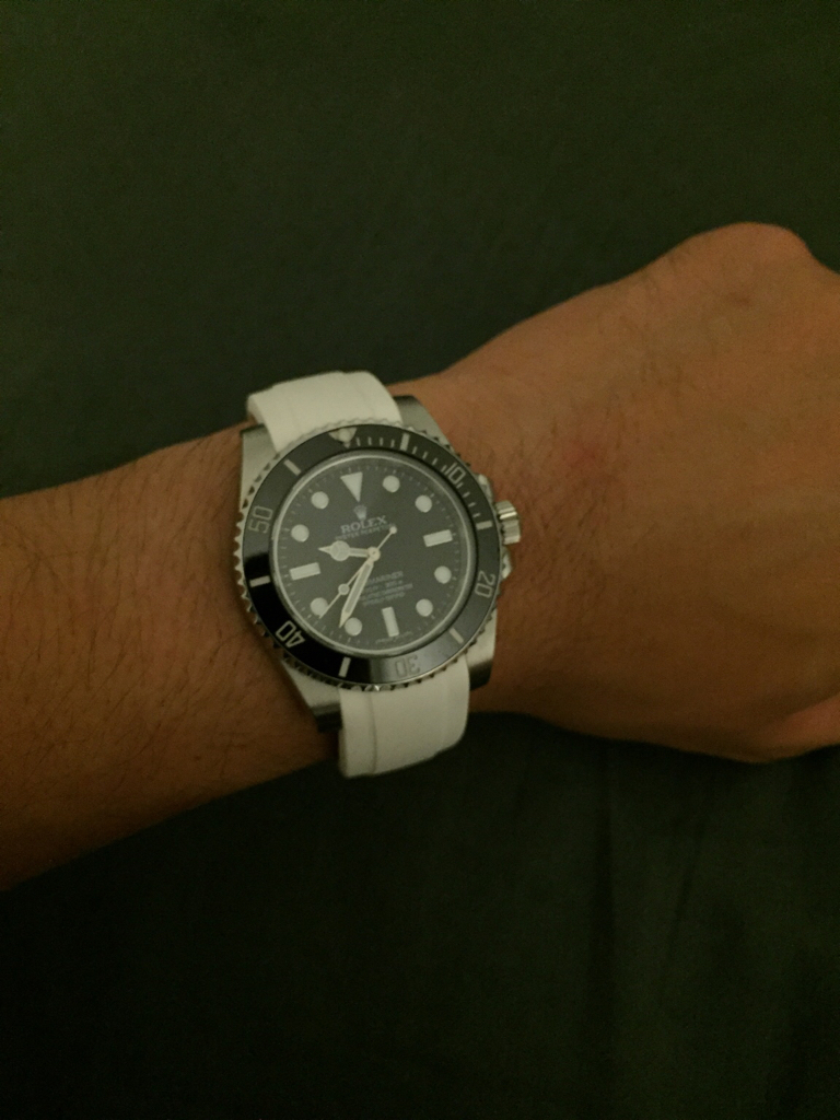 Rolex Submariner 16610 In Band Straps Any Advises