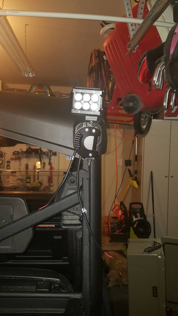 Led Light Mounting Options Can Am Commander Forum