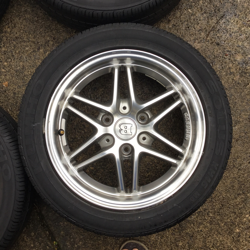"For Sale: 15"" Brabus Monoblock Wheels With Tires(SOLD"