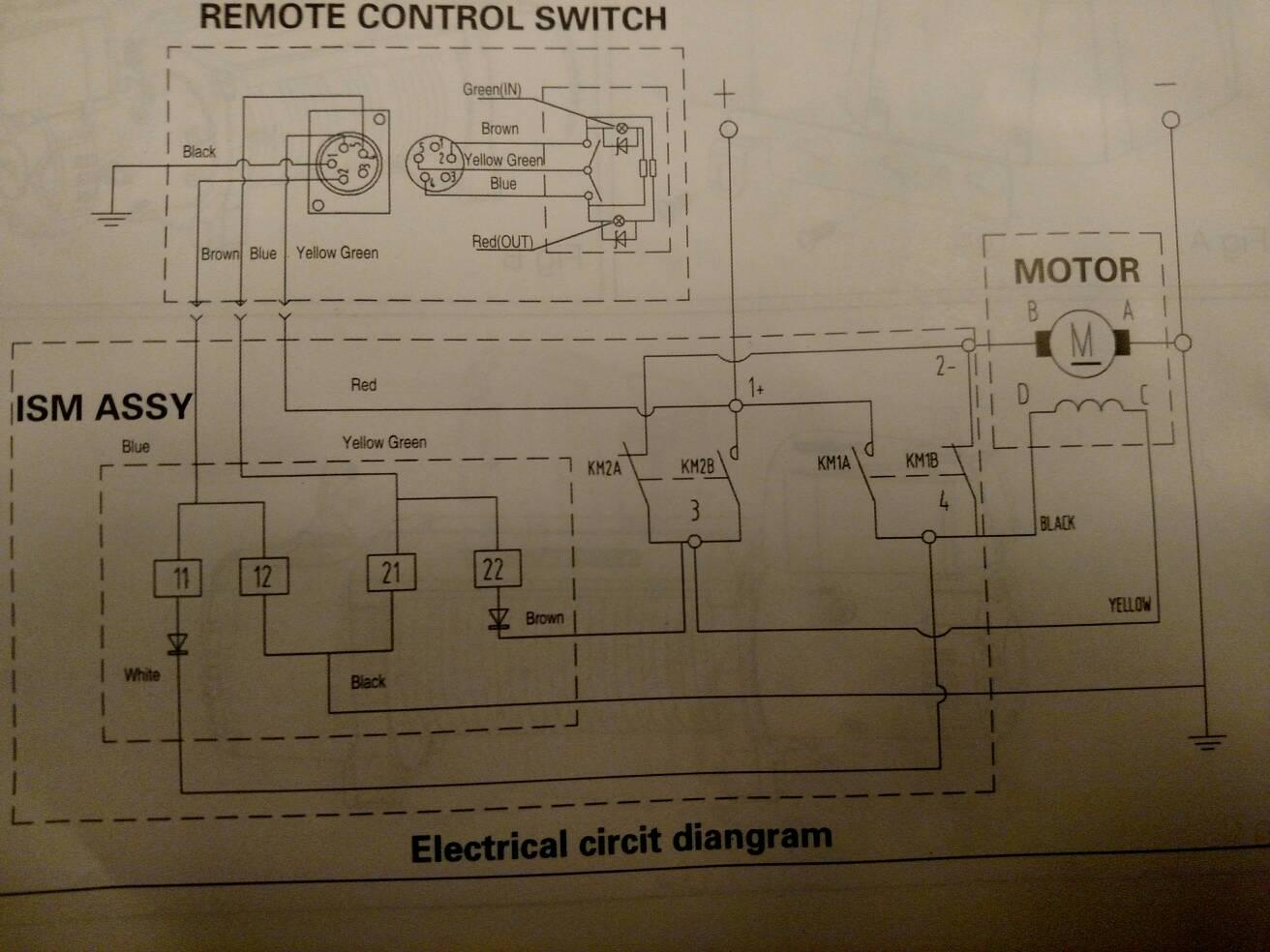 Grande Winch Wiring Diagram