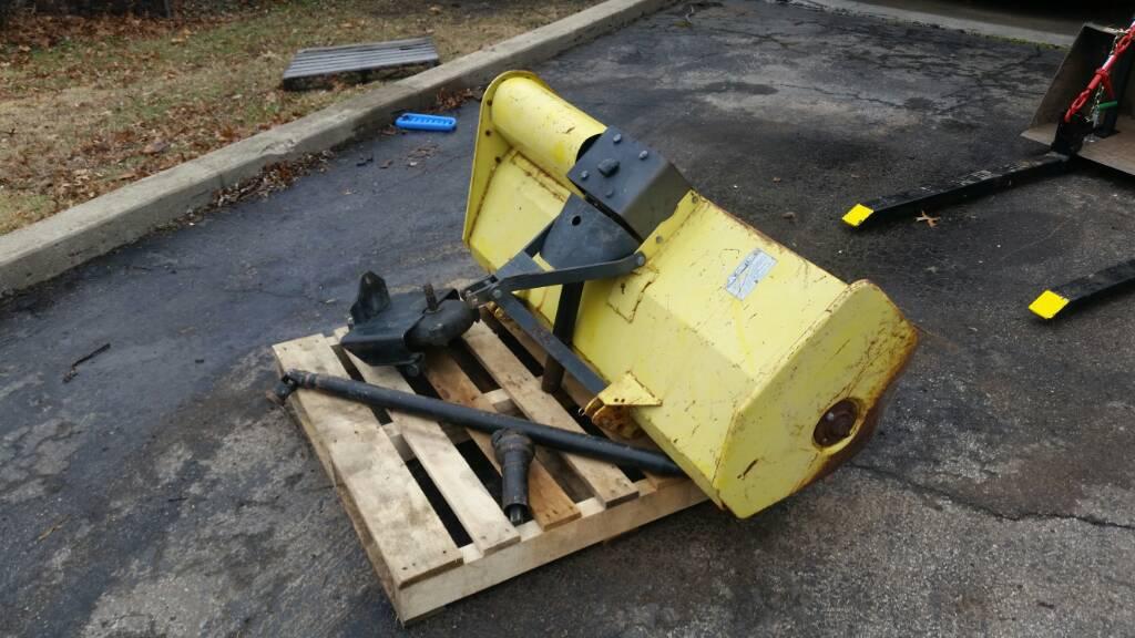 John Deere 400 Pto Shaft : Tiller and rear pto gearbox