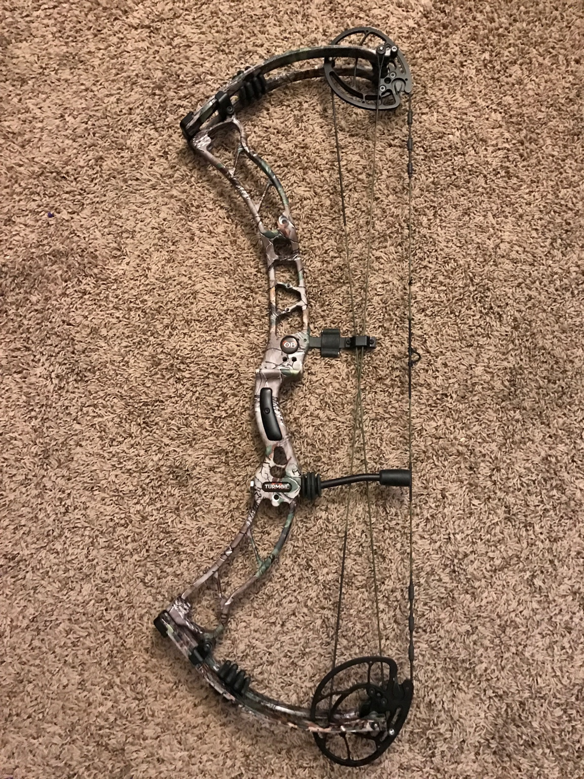 for sale 2017 obsession turmoil in realtree camo will come with 2017 ob window sticker bow is fast and smooth drawing with a good valley 500 00 tyd paypal only please its priced to sell 699 99 retail