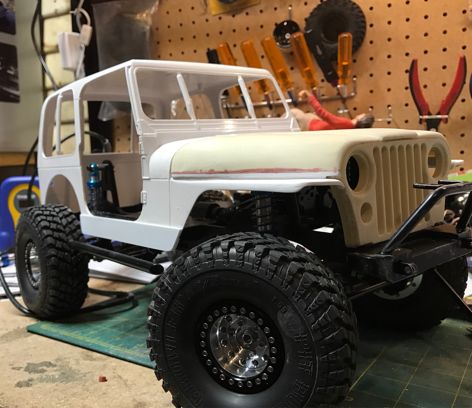 RCmodelex Jeep CJ Build