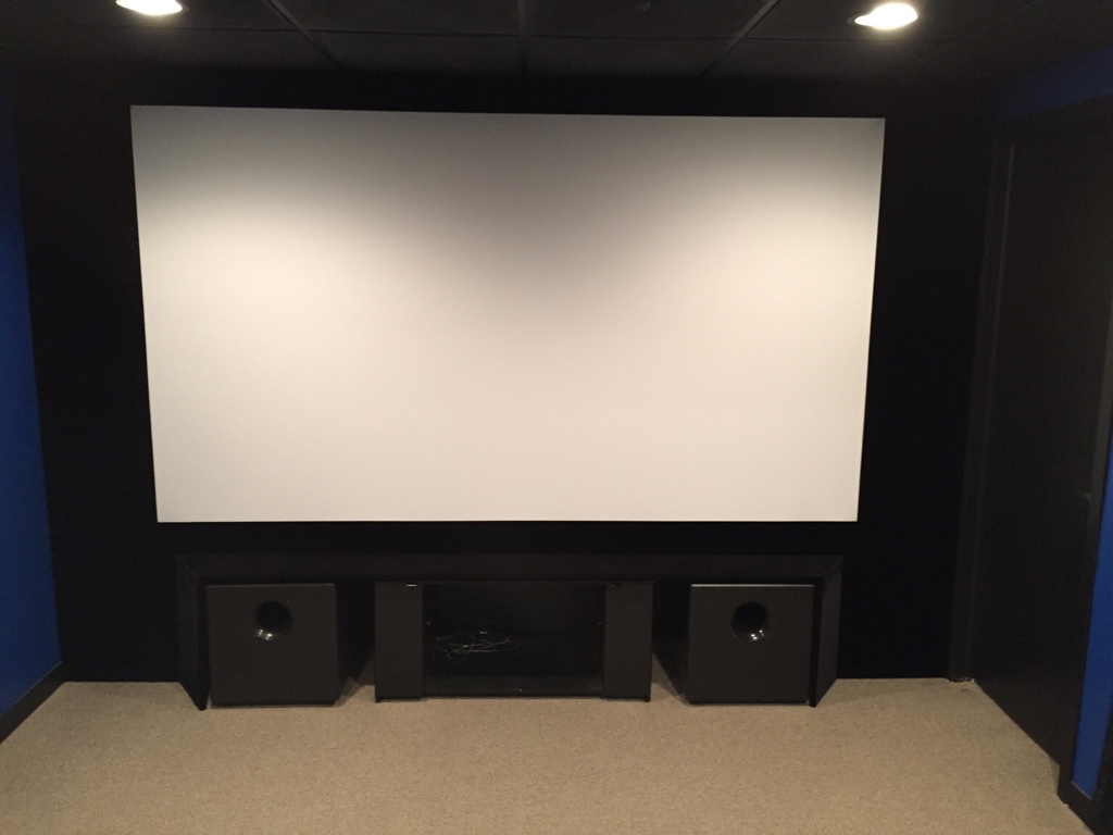 Minimalist Approach To Screen Wall Page 17 Avs Forum Home Theater Discussions And Reviews