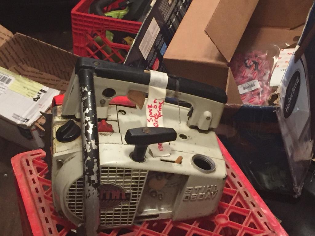 Stihl 020AV parts saw sold