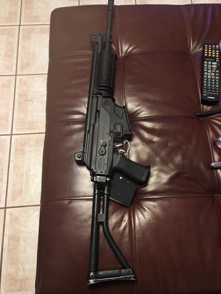 Any Galil Ace Owners Able To Pin Their Side Folding Stocks