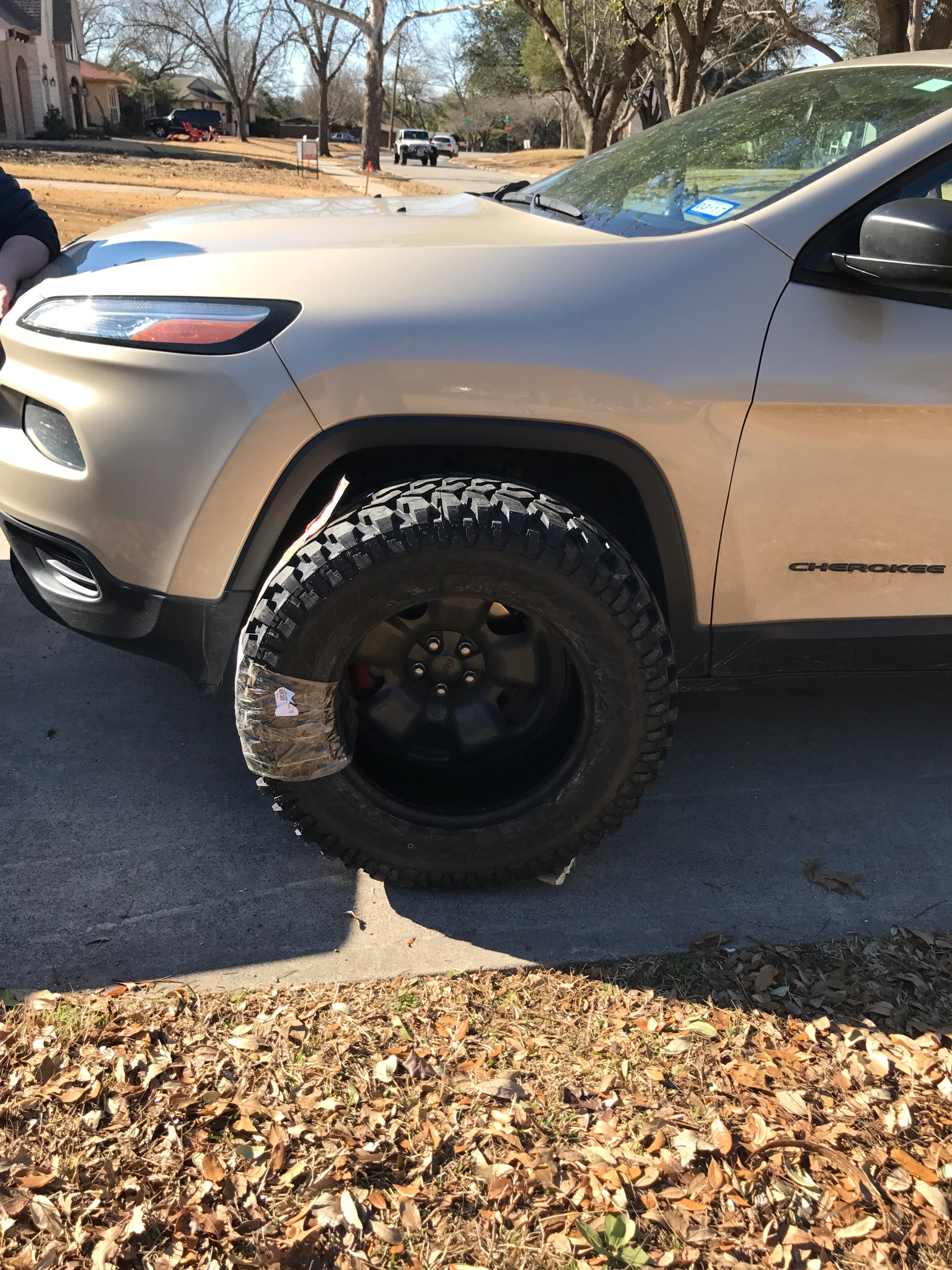 Mud terrain tires - 2014+ Jeep Cherokee Forums