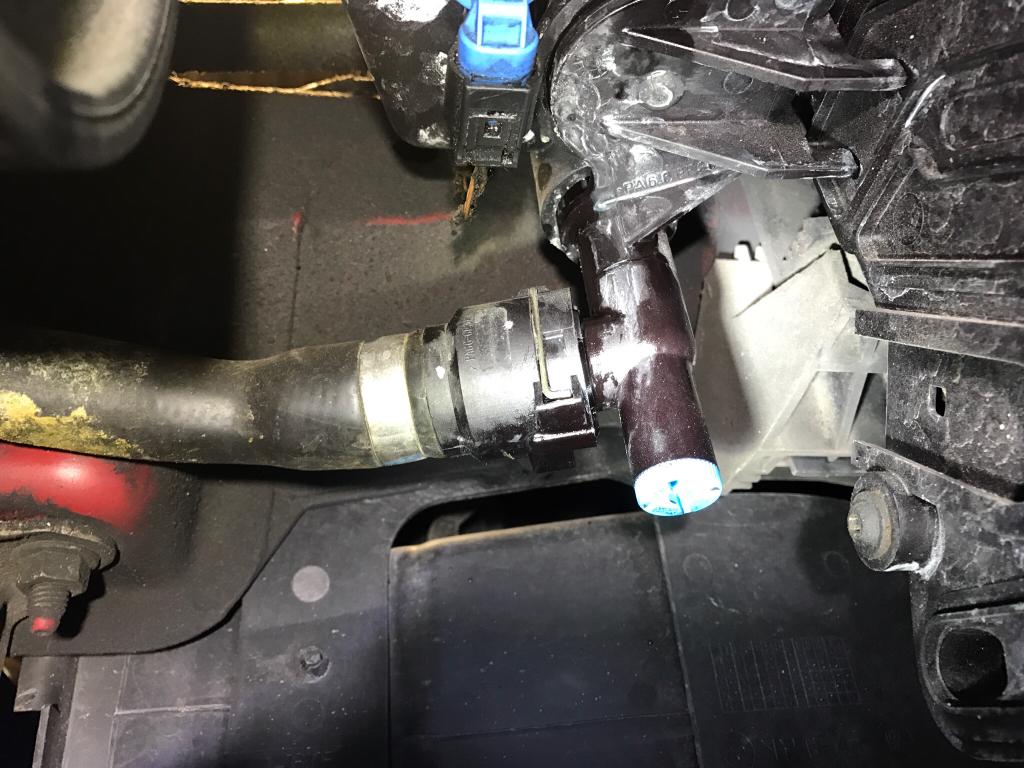 Coolant Leak Expansion Tank