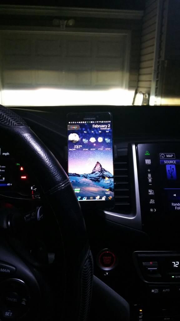cell phone holder page  honda pilot honda pilot forums