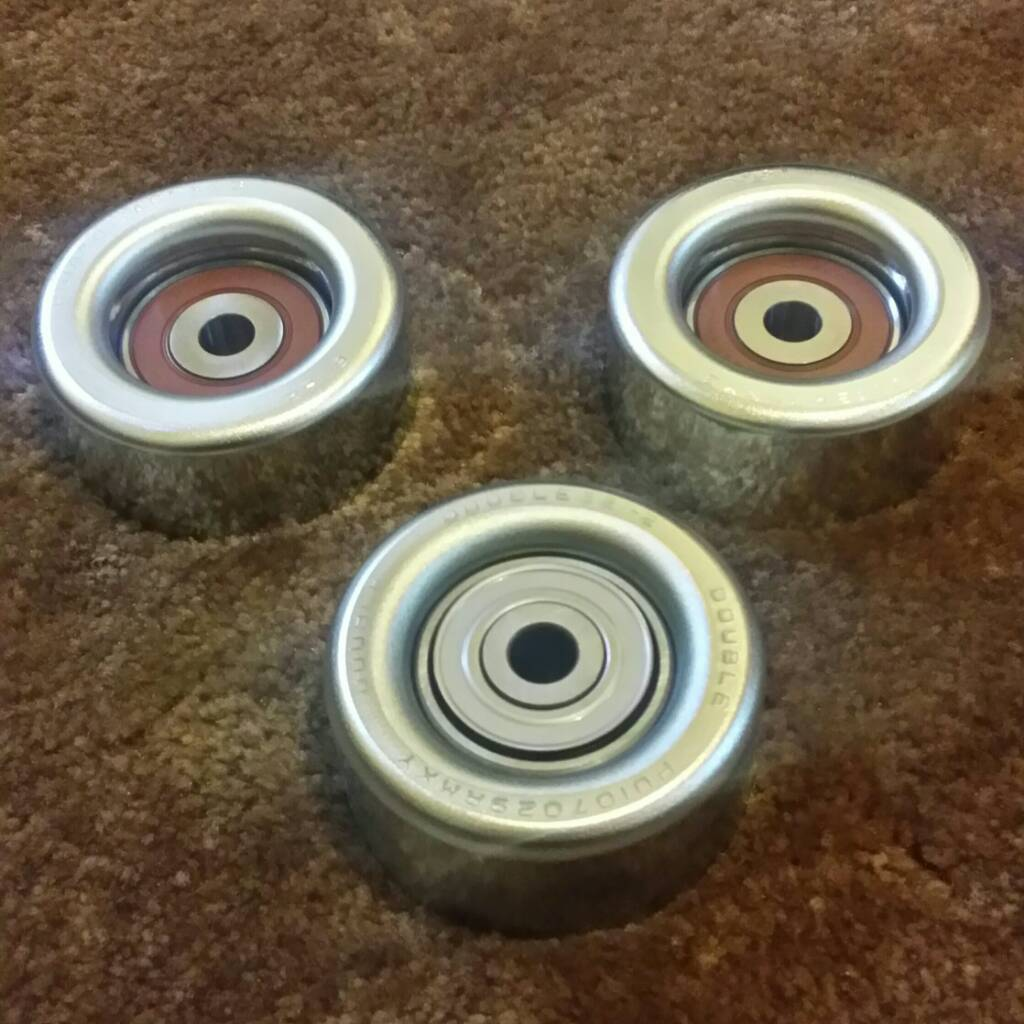 Serpentine Belt Pulley Bearing Noise : Idler pulley bearing failure what to do page