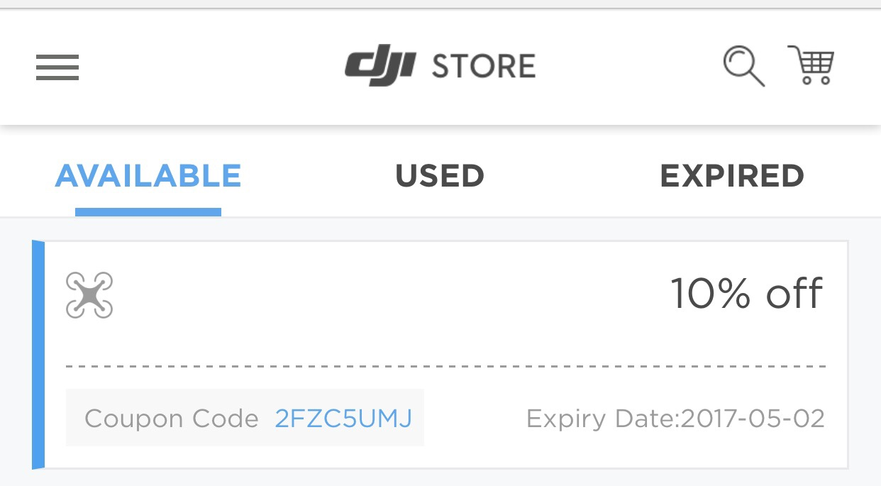 Did you know DJI offers Free Shipping on most orders?