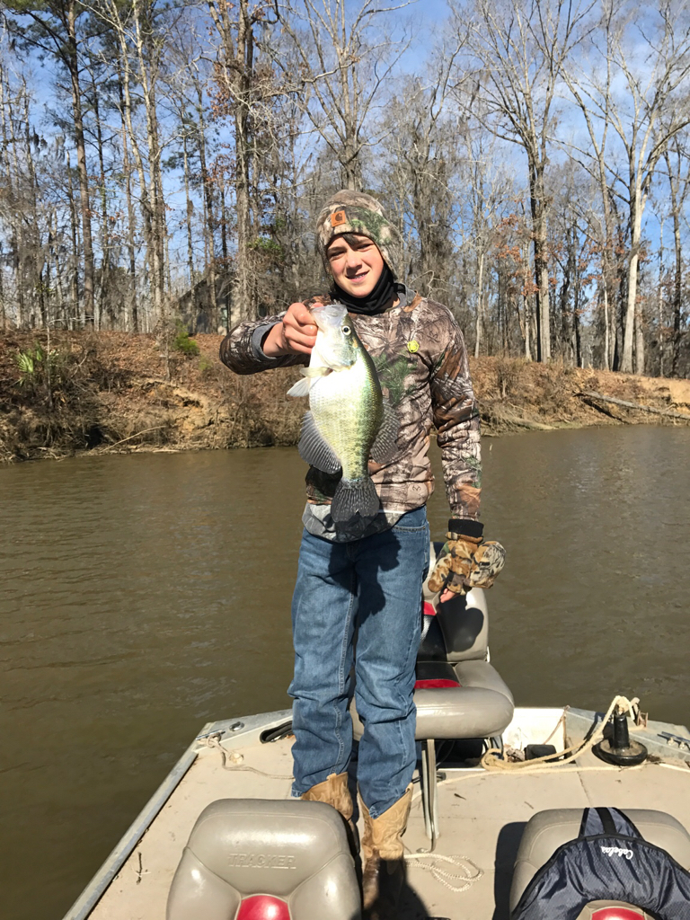 Crappie masters lake talquin results pensacola fishing for Lake talquin fishing report