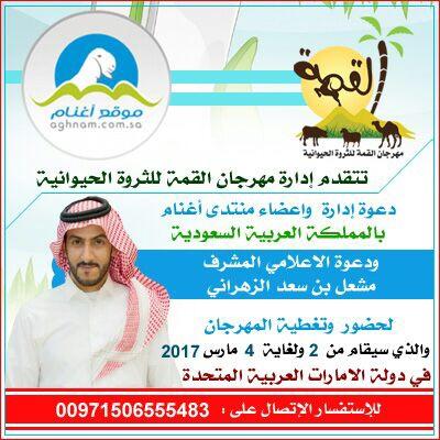 دعوه لحضور مزاد القمه الخليجي e05720132b087d49cc72