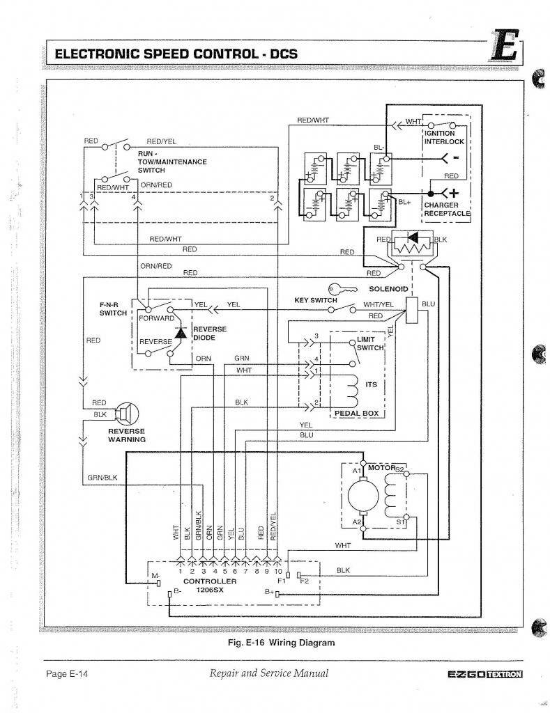 1 2 speed throttle question page 2 if it is a dcs carts 36 volt on the orange wire on pin 4 would do the same thing yurtle was talking about in a previous post the switch