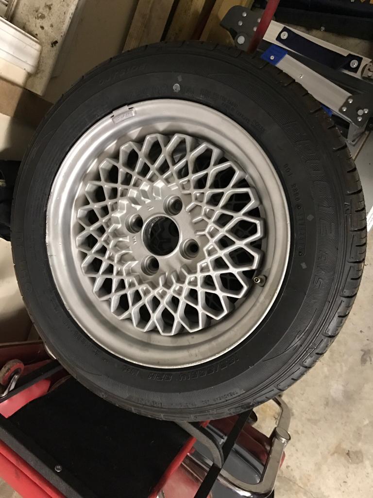 Volkswagen Gli 2017 >> VWVortex.com - FS: Vintage Riken Mesh Wheels w/ New Tires