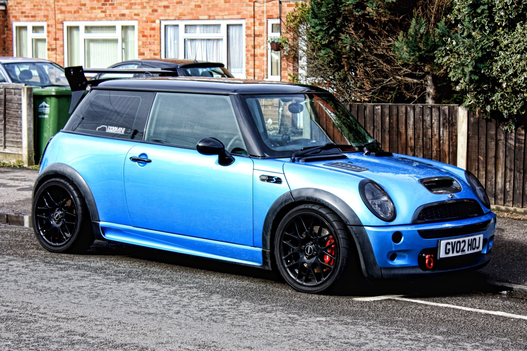 modified mini r53 running 221bhp. Black Bedroom Furniture Sets. Home Design Ideas