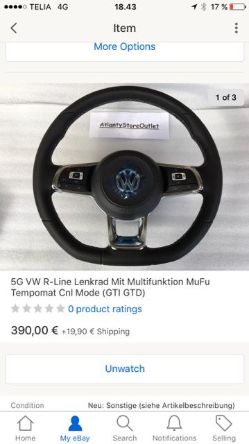 hvid golf bil