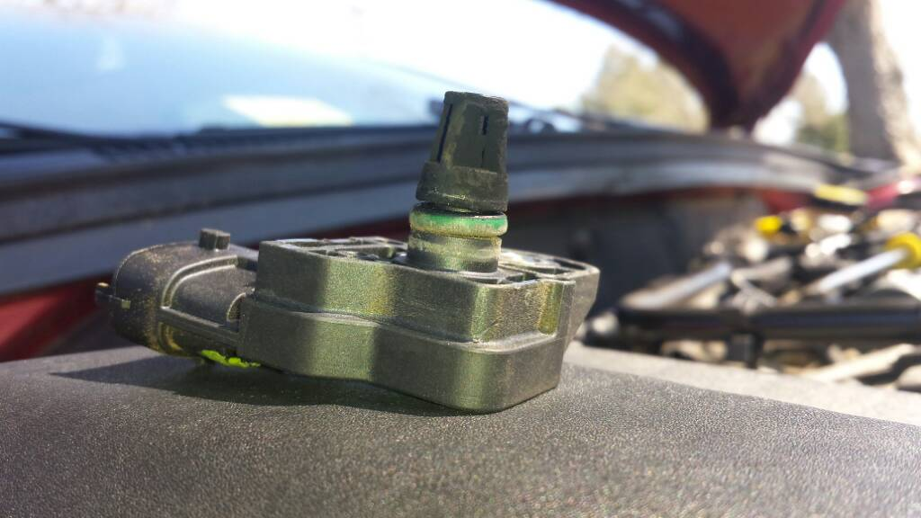 how to fix map sensor