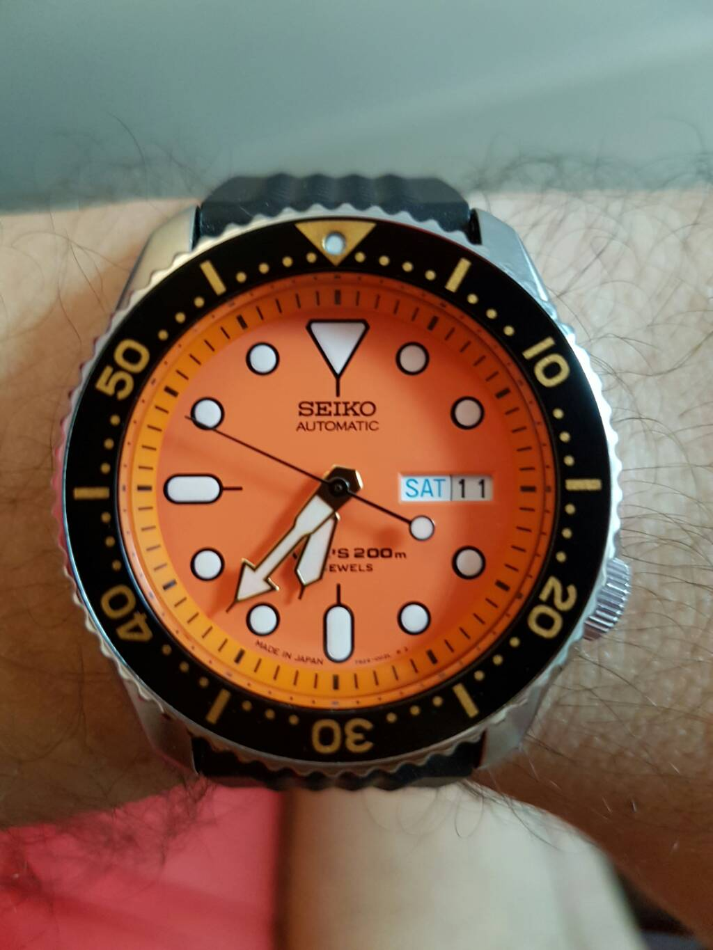 luck watches been me is to seiko a divers prices regulated very consistent anyone skx from delivery with great showthread good forums everyone creation purchase running rolex by and have place has fast
