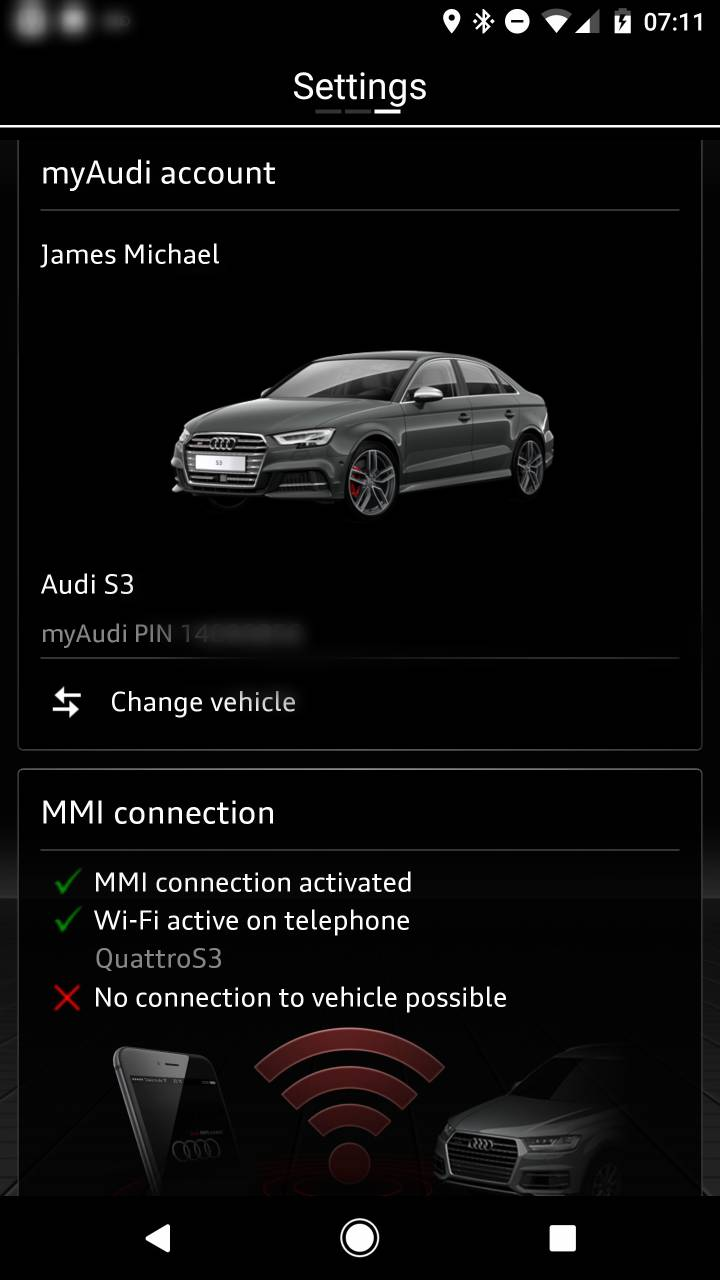 Audi Connect S V Page - My audi com