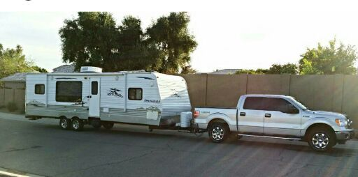 32 Travel Trailer With Max Weight Of 7 500 Lbs Okay To