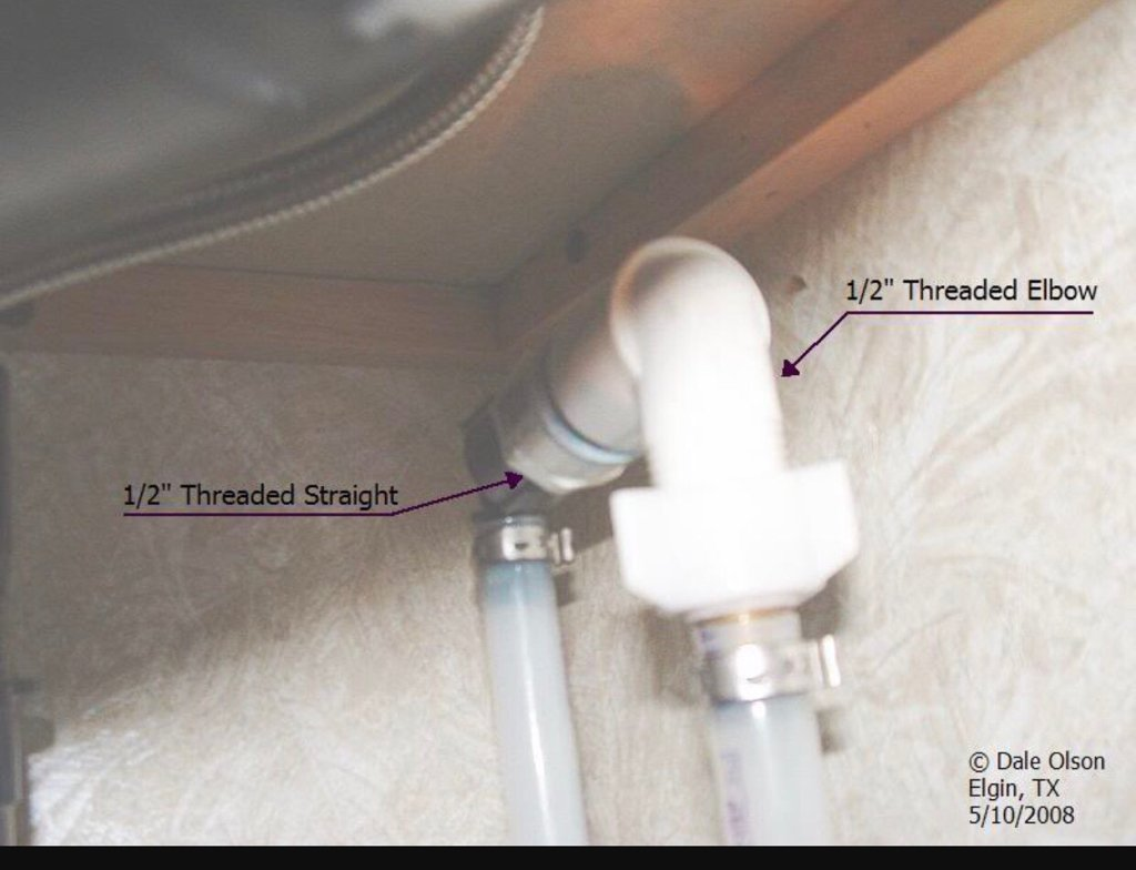 It Will Be A Check Valve Underneath Bathroom Sink And Will Look Something  Like One In Pic