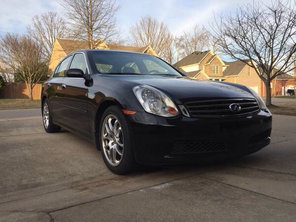 Fs - 2005 g35 sedan 6mt - $6500 - nashville tn - 6MT.net ...