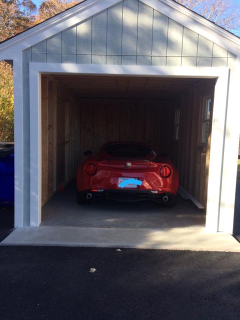 most of the time i never open the entrance door just the garage door plenty big 10 foot wide iu0027m sure 11 foot wide will work